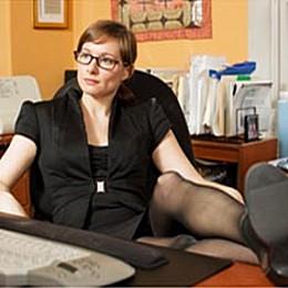 Женщины дичают вне офиса