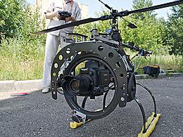 Андрей Тетерин, «Летающая камера»: «Наш радиоуправляемый вертолет стоит как дорогая иномарка»