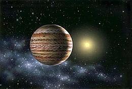 Юпитер отводит кометы и насылает астероиды на Землю