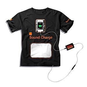 Хлопковая футболка зарядит телефон
