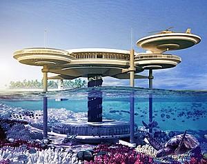 Water Discus Hotel - проект подводного отеля в Дубаи