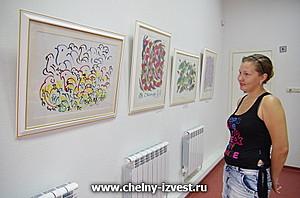 В Челнах открылась удивительная выставка картин художника из Индии