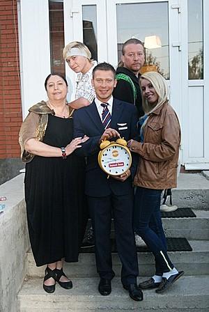 Челнинский танцор побывал на кулинарном шоу