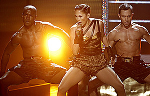 Джей Ло устроила в Москве «грязные танцы» со своим бойфрендом