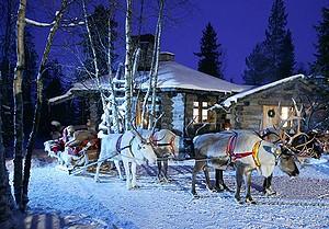 На Новый год 400 тыс россиян выбрали Финляндию