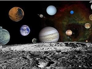 Упрощенный планетарий