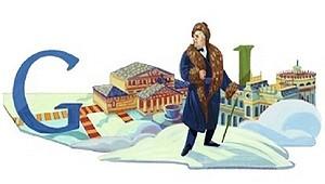 Google изменила логотип в честь 140-летия со дня рождения Шаляпина