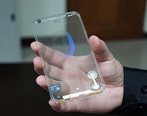 Прозрачный смартфон появится на рынке до конца года