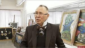 Художник-модельер Вячеслав Зайцев отмечает 75-летний юбилей