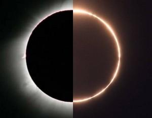 В Угаде пройдет гибридное солнечное затмение