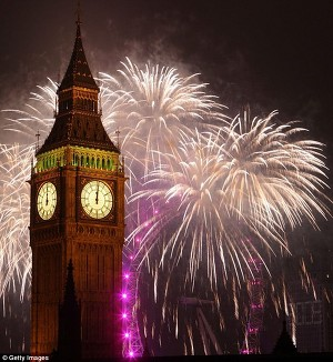 Лондон признан самым дорогим городом Европы для празднования Нового года