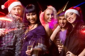 Новогод в клубе