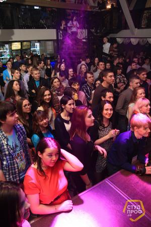 Первая вечеринка от нового молодежного проекта