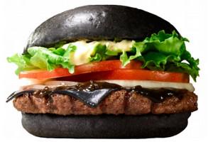 Посетителям Burger King в Японии предложат черные бургеры