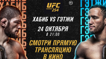 ПРЯМАЯ ТРАНСЛЯЦИЯ ТУРНИРА UFC 254