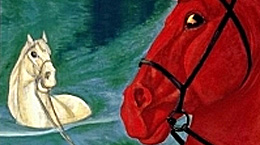 Марк Шагал. Прогулка в небесах